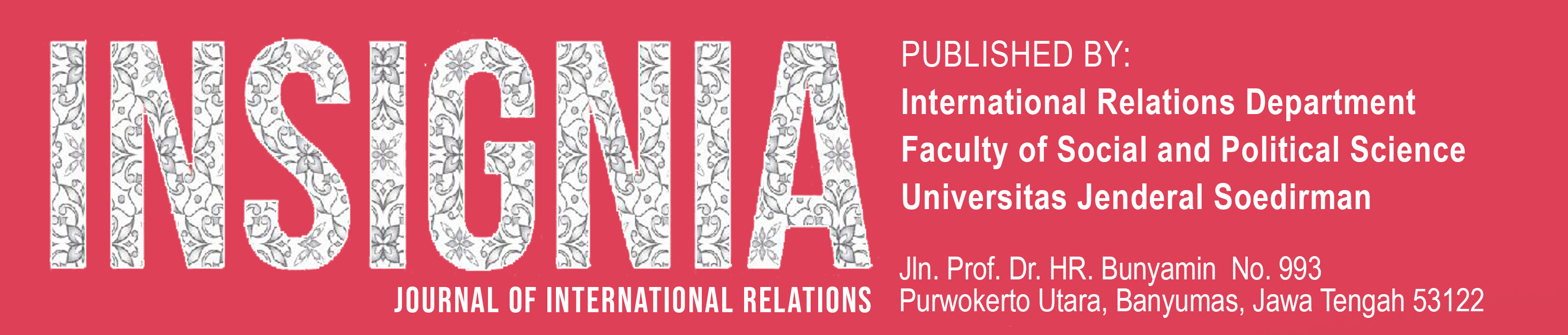 Insignia Journal of International Relations